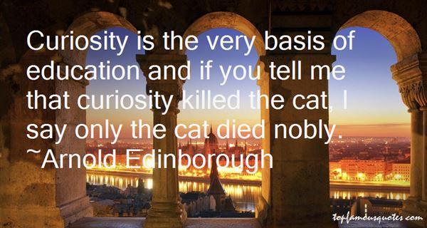 Arnold Edinborough Quotes