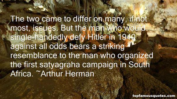 Arthur Herman Quotes