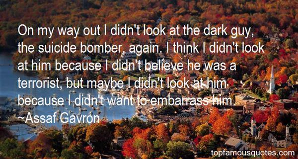 Assaf Gavron Quotes