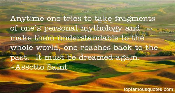 Assotto Saint Quotes