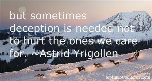 Astrid Yrigollen Quotes