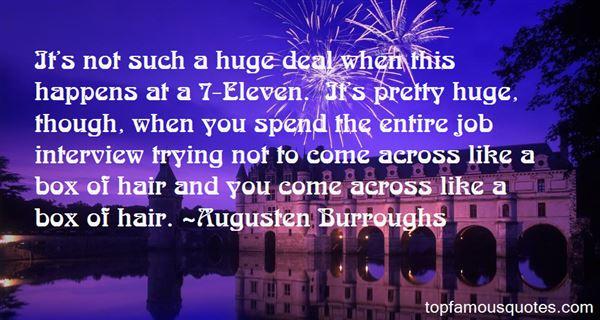 Augusten Burroughs Quotes