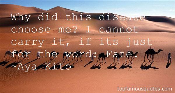 Aya Kito Quotes