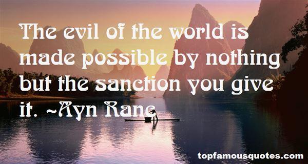Ayn Ranc Quotes