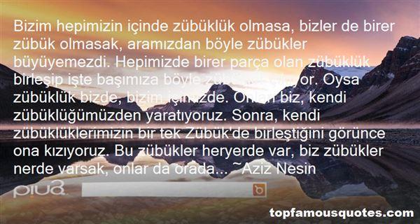 Aziz Nesin Quotes