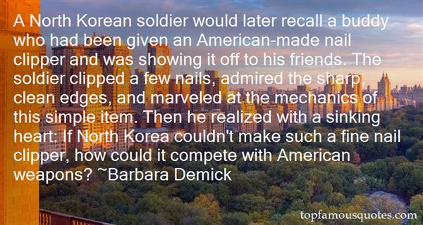 Barbara Demick Quotes