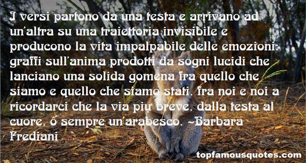 Barbara Frediani Quotes