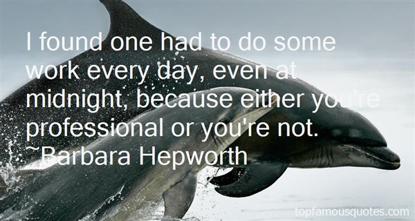 Barbara Hepworth Quotes