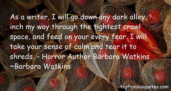Barbara Watkins Quotes