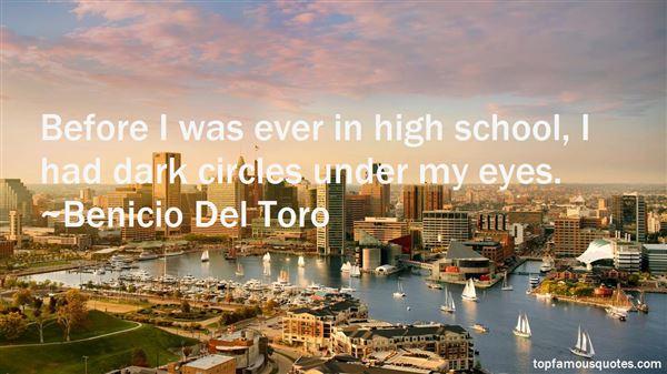 Benicio Del Toro Quotes