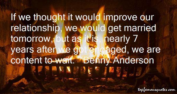 Benny Anderson Quotes