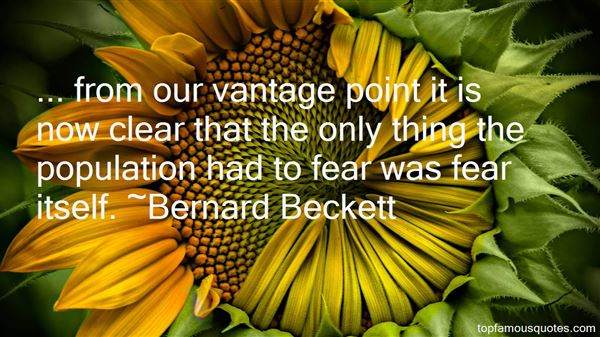 Bernard Beckett Quotes