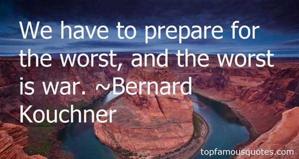 Bernard Kouchner Quotes