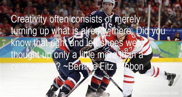 Bernice Fitz Gibbon Quotes