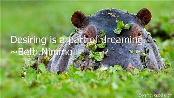 Beth Nimmo Quotes