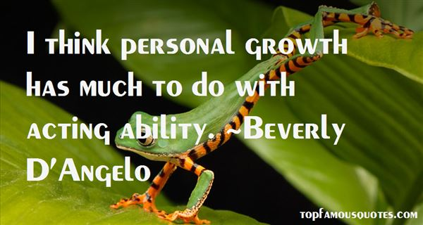 Beverly D'Angelo Quotes