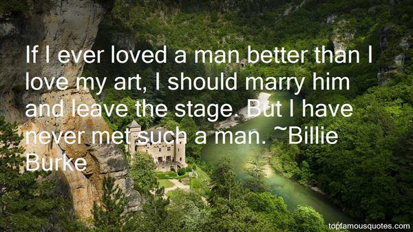 Billie Burke Quotes