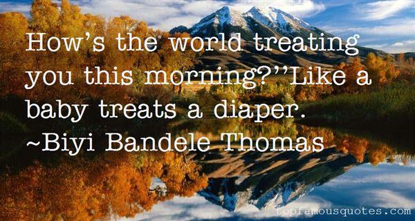 Biyi Bandele Thomas Quotes