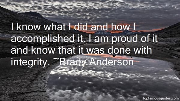 Brady Anderson Quotes