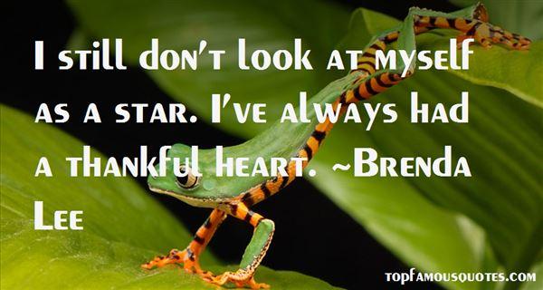Brenda Lee Quotes