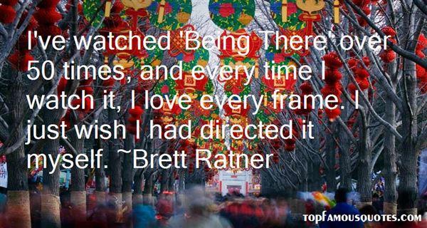 Brett Ratner Quotes