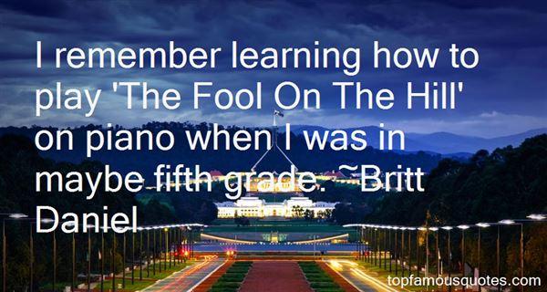 Britt Daniel Quotes