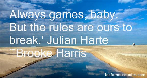 Brooke Harris Quotes