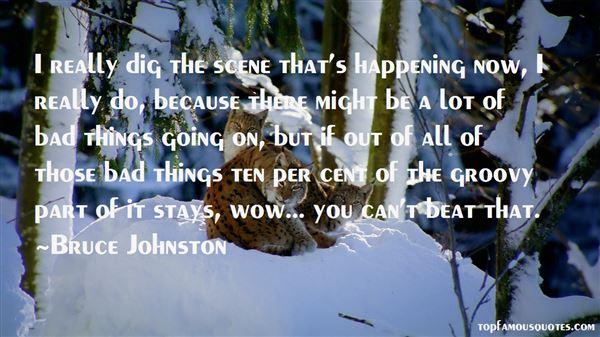 Bruce Johnston Quotes