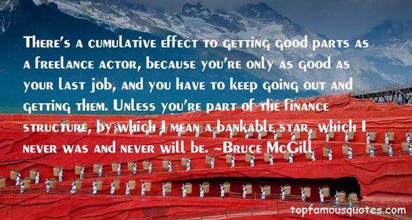 Bruce McGill Quotes