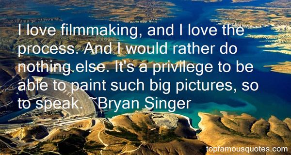 Bryan Singer Quotes