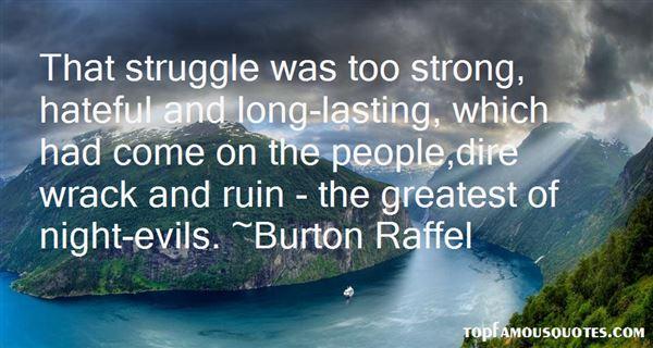 Burton Raffel Quotes