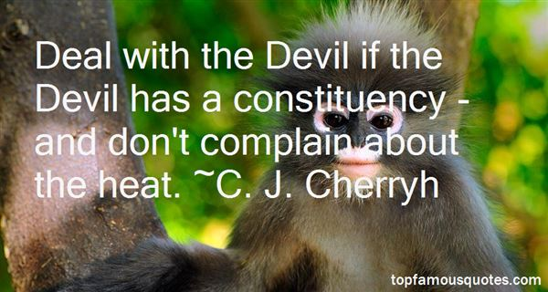 C. J. Cherryh Quotes