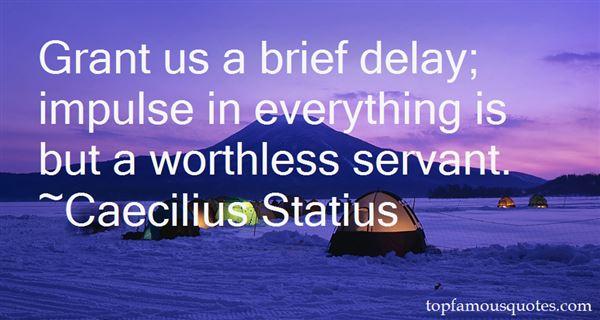 Caecilius Statius Quotes