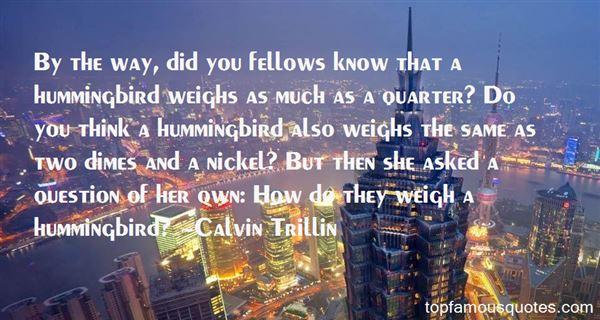 Calvin Trillin Quotes