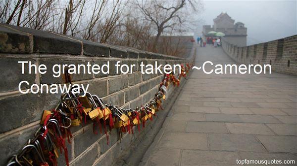 Cameron Conaway Quotes