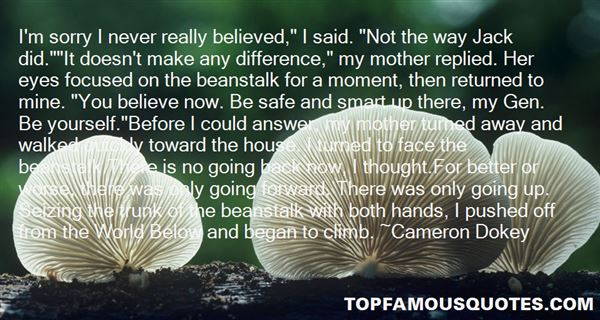 Cameron Dokey Quotes