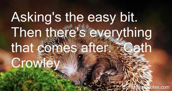 Cath Crowley Quotes