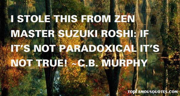 C.B. Murphy Quotes