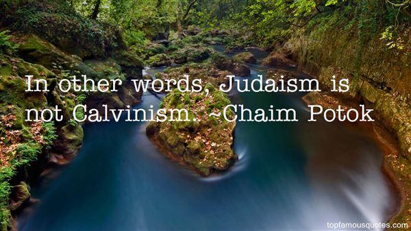 Chaim Potok Quotes