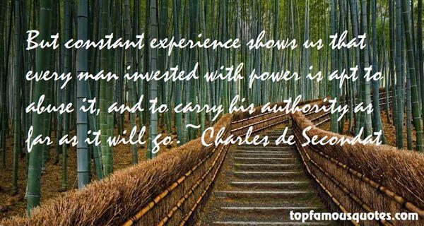 Charles De Secondat Quotes