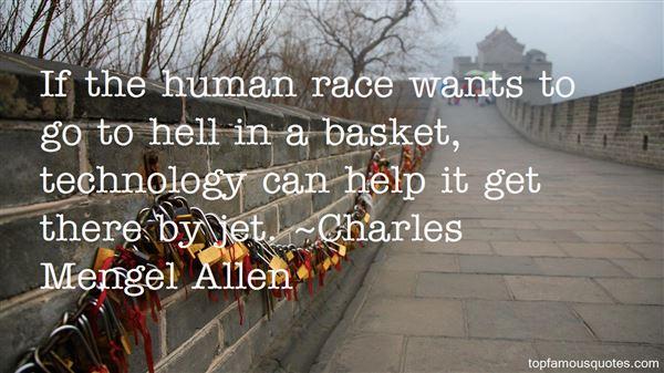 Charles Mengel Allen Quotes