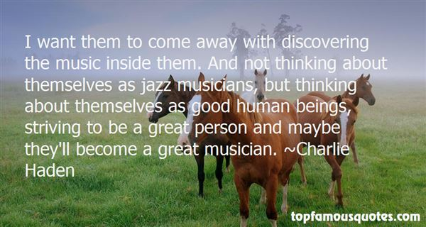 Charlie Haden Quotes