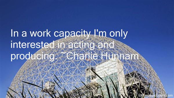 Charlie Hunnam Quotes