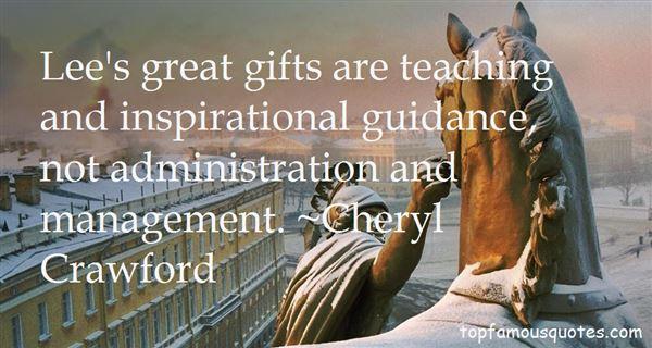 Cheryl Crawford Quotes