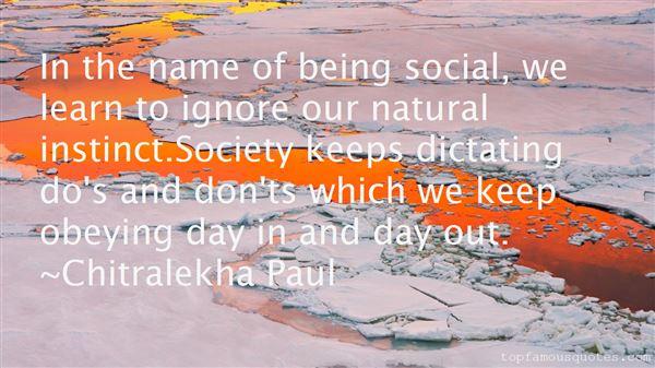 Chitralekha Paul Quotes