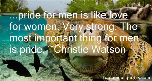 Christie Watson Quotes