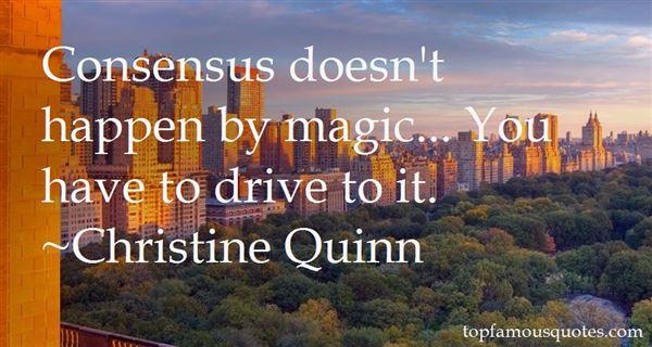 Christine Quinn Quotes