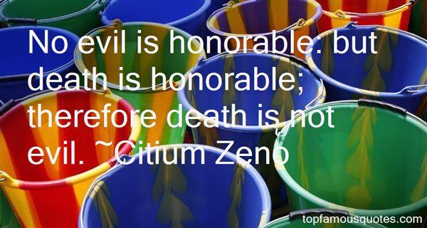 Citium Zeno Quotes