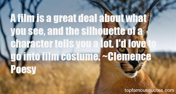 Clemence Poesy Quotes