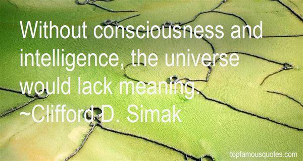 Clifford D. Simak Quotes